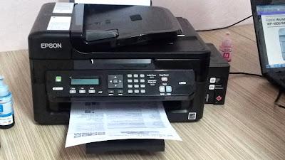 Принтер EPSON L555 с донорами