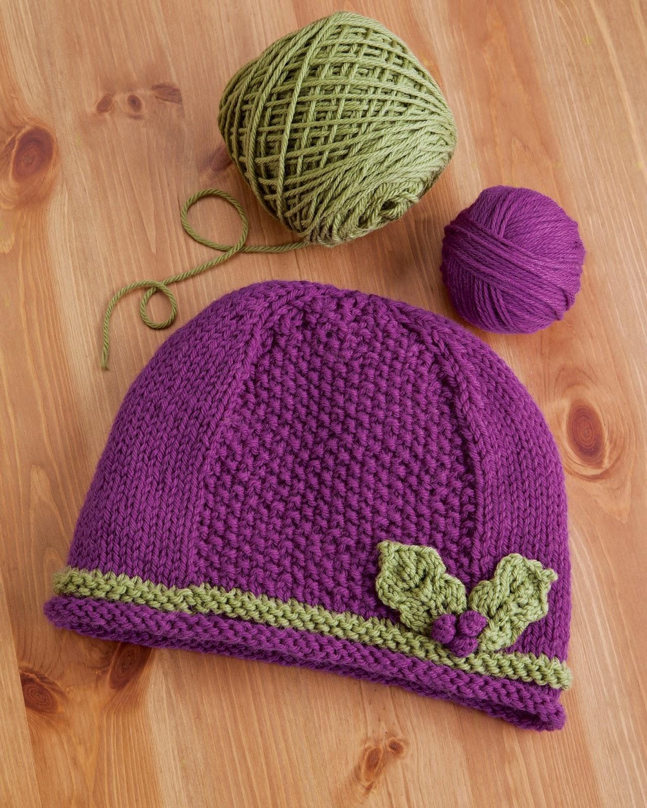 Cascade Yarns Blog: Yarn Garden - Littleton, NH - Holly Hat ...