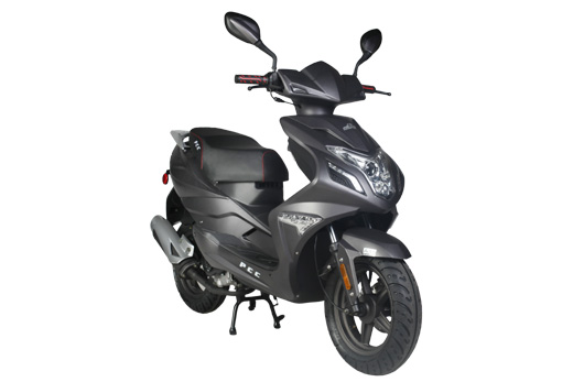 Small Engine Scooters : Puma speedo cc moped scooter review powerful