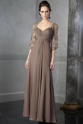 vestidos para mãe da noiva 2015