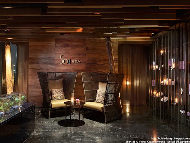 Les plus beaux hotels design du monde h tel sofitel so for Resort spa home decor