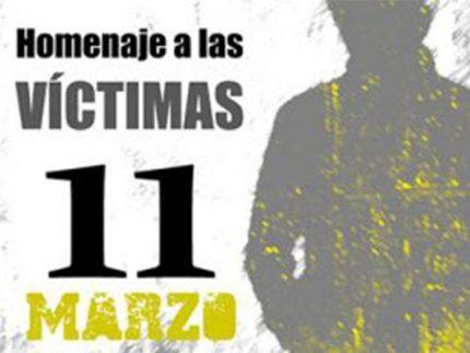 domingo 11 En recuerdo de las victimas del 11 M