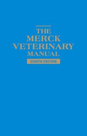 Veterinary medicine merck veterinary manual 8th edition fandeluxe Images