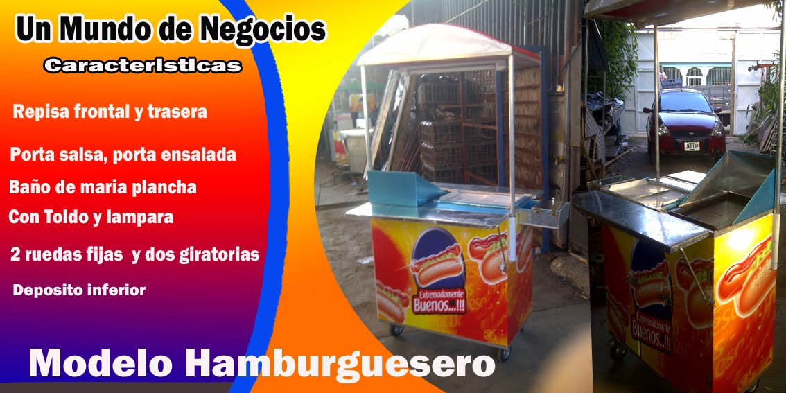 MODELO HAMBURGUESERO