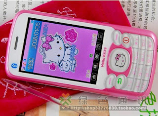 Hello Kitty cellphone