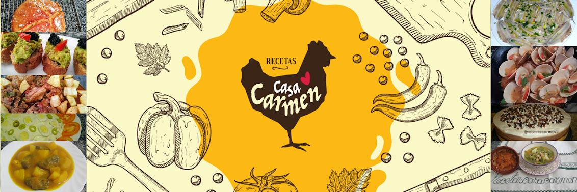 Recetas Casa Carmen