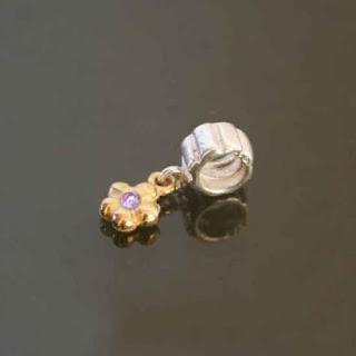 Beautiful Silver Large Hole Beads