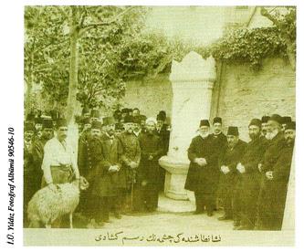 Nişantaşı Çeşmesi 'nin açılışı (1902)