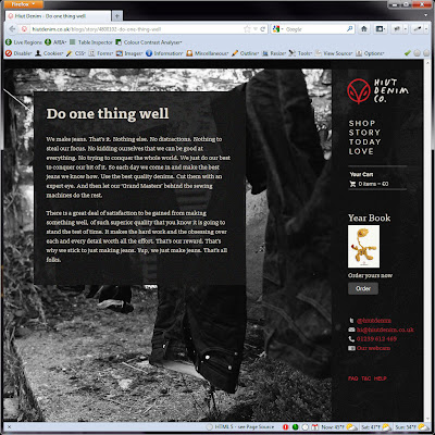 Screen shot of http://hiutdenim.co.uk/blogs/story/4800102-do-one-thing-well.
