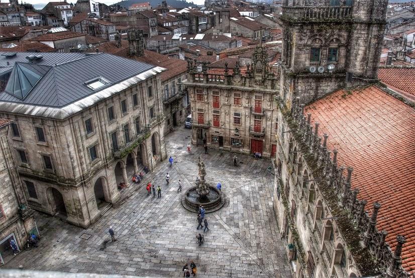 Plaza de Platerías Santiago de Compostela