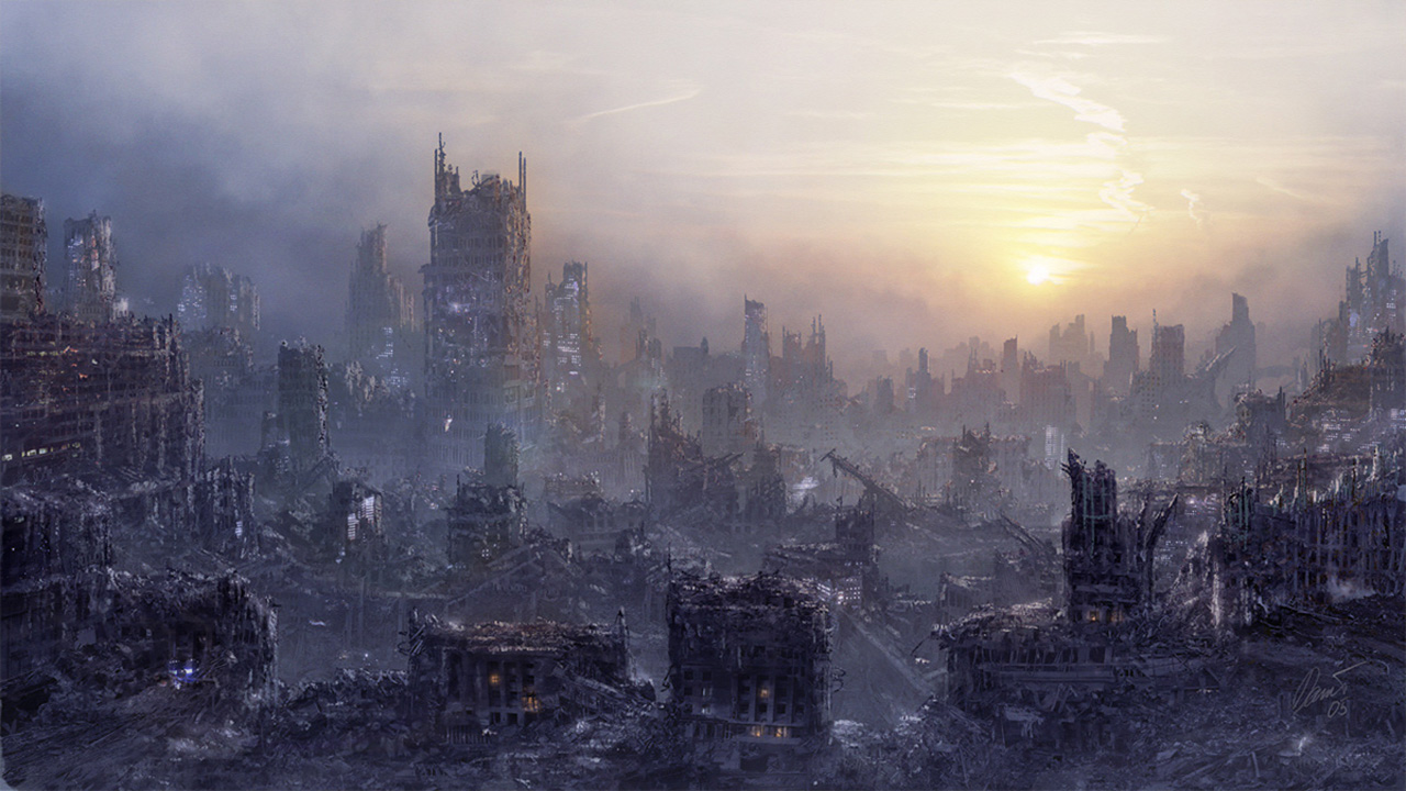 I Thought This Would Be A Nice Addition To The End Of World Trend Today Hell It Is 21st May So Here We Go Post Apocalyptic Wallpaper