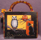 Halloween Cigar Box Purse