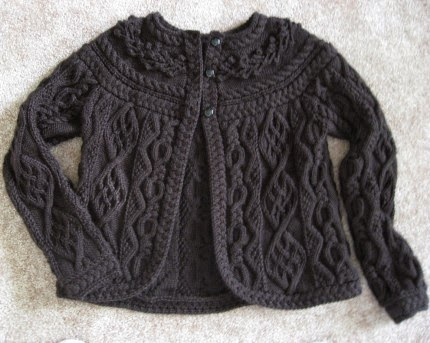 Briar Rose Cardigan - Free Pattern