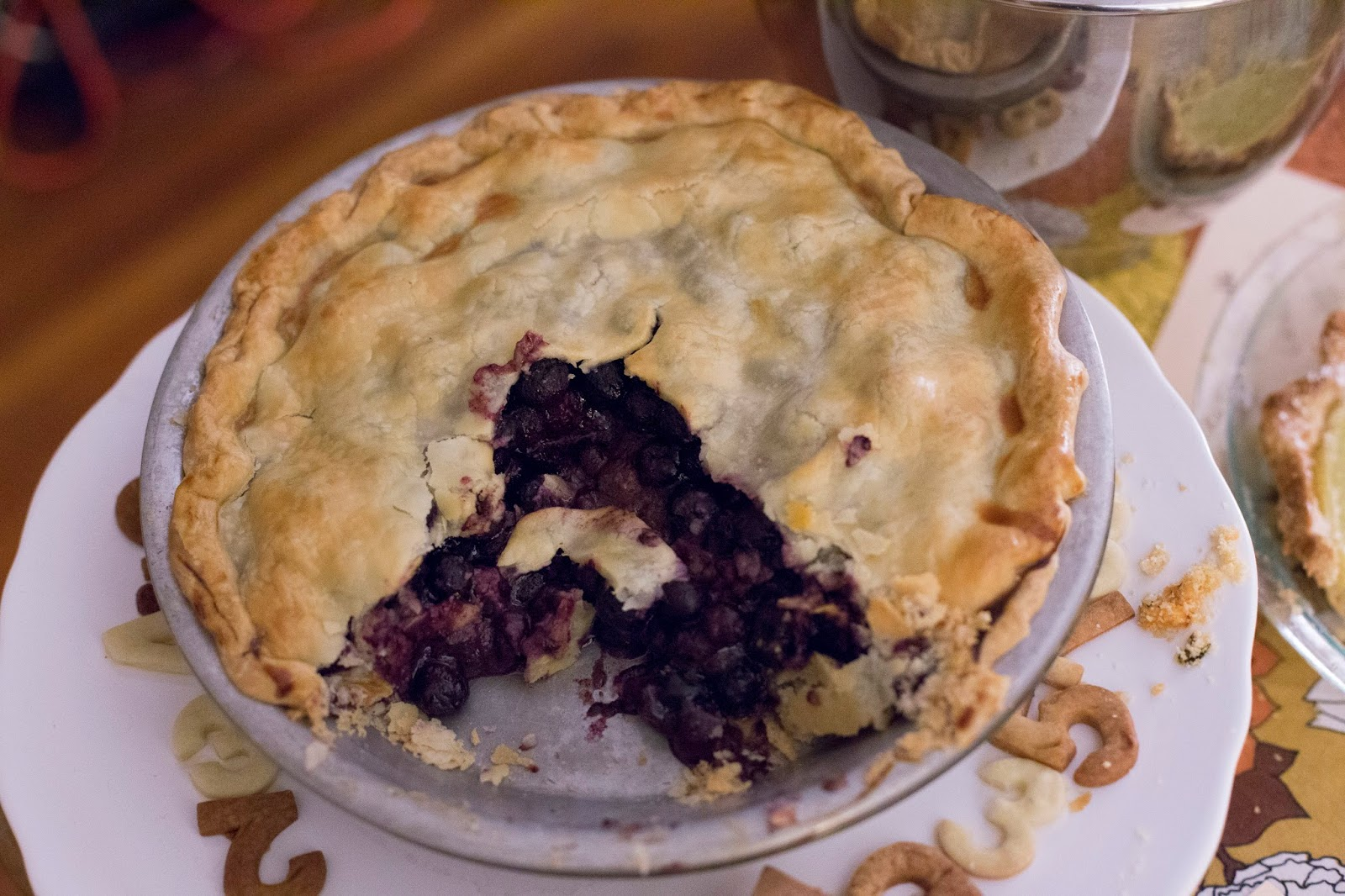 Blueberry Pie for Pi(e) Day
