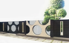 model pagar rumah terbaru