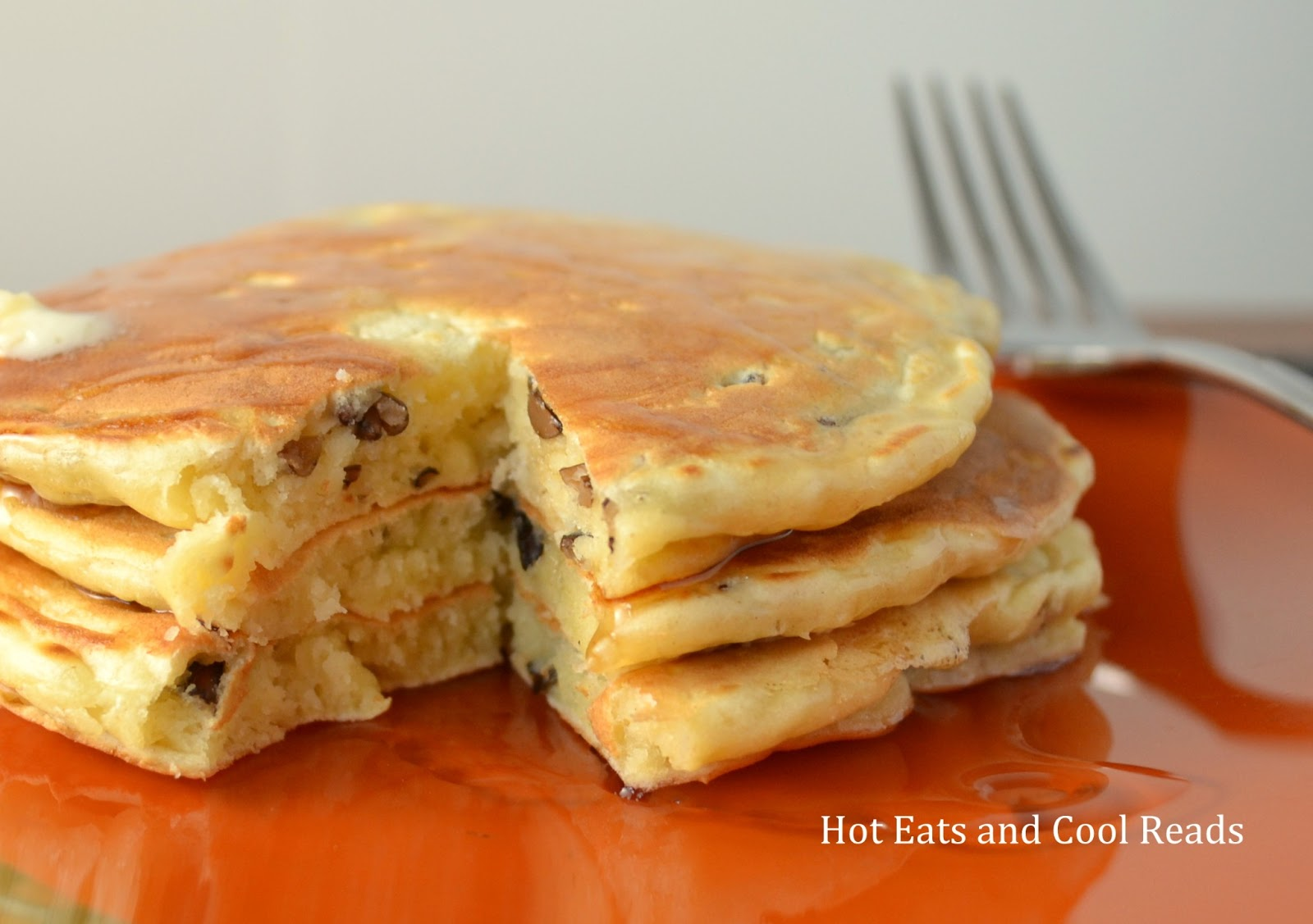 Hot Eats and Cool Reads: Wild Rice Pancakes Recipe