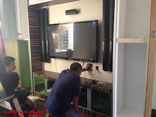 deco ruang tamu (kabinet tv@rumah tv)