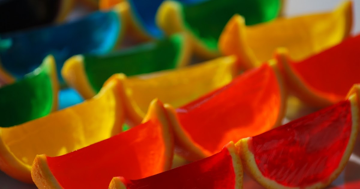 My story in recipes: Rainbow Jello Slices