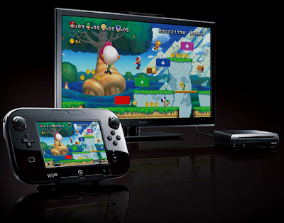 Nintendo Wii U gaming console