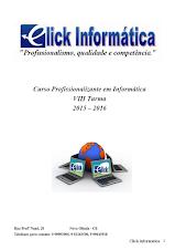 Apostila do Curso Profissionalizante em Informática Turma 2015-2016