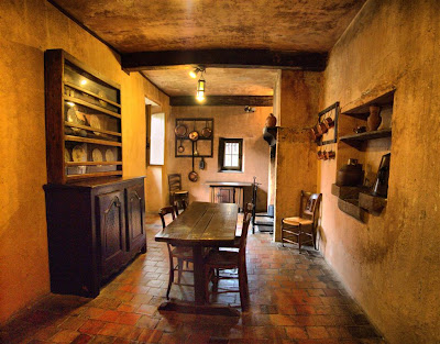 Cocina de la Casa Bernadotte en Pau