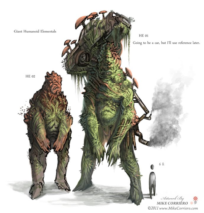 Character And Creature Design Notes Creature Design For Video Games