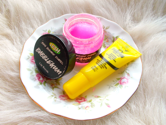 My Top 5 Natural Beauty Enhancers including the LUSH lip scrub & Dr Paw Paw balm