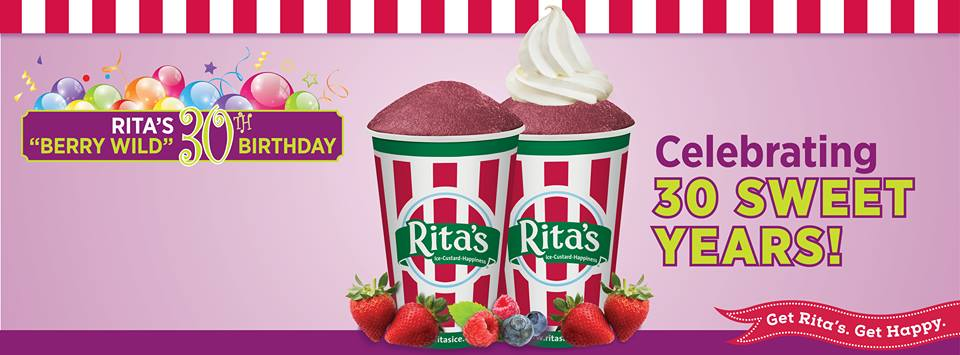 Rita's Italian Ice has a new Italian ice flavor: Wild Berry . It's ...