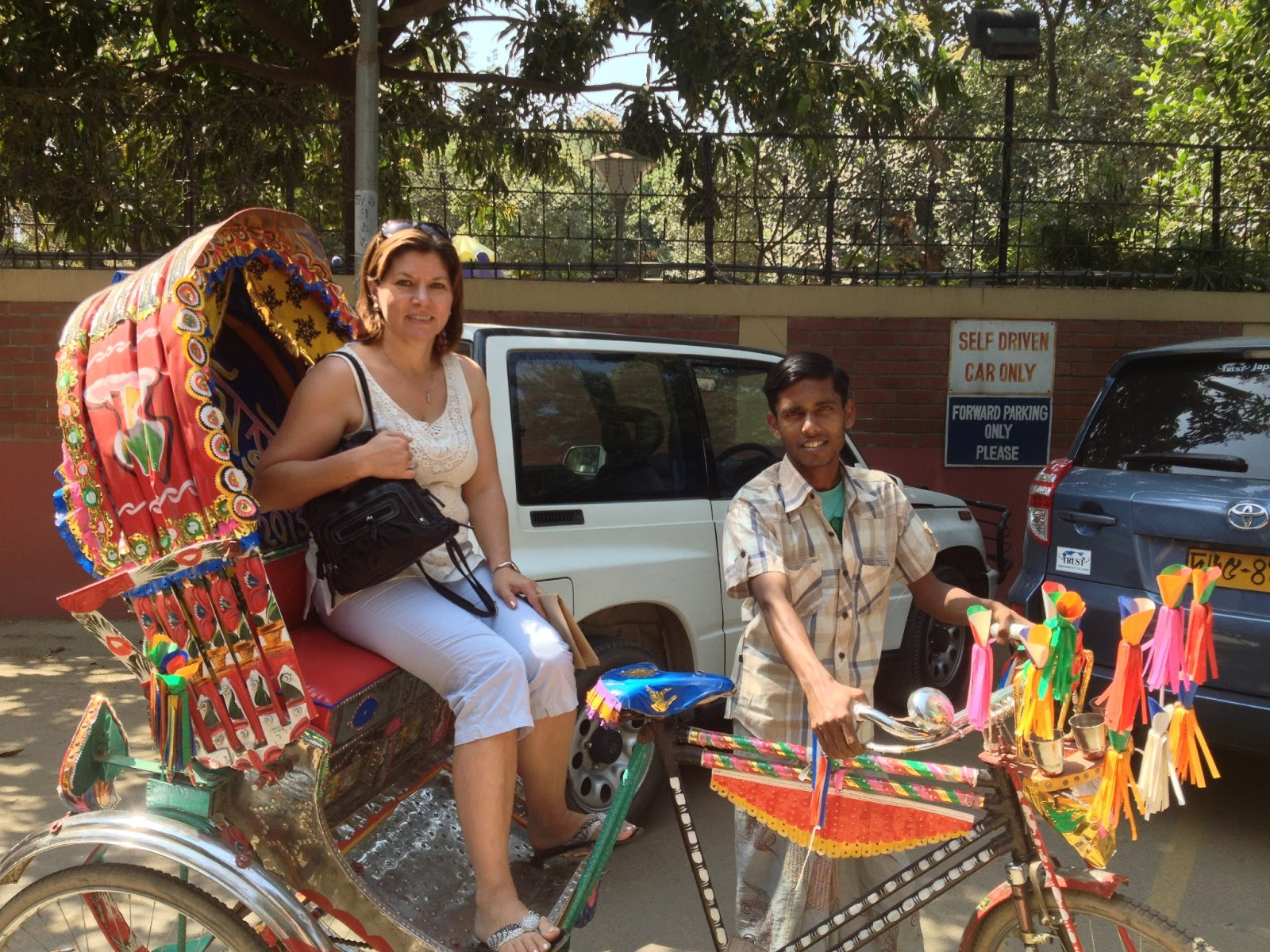 The Americans Will Come The Rickshaw Capital Of The World