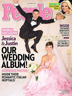 Jessica Biel and Justin Timberlake Wedding