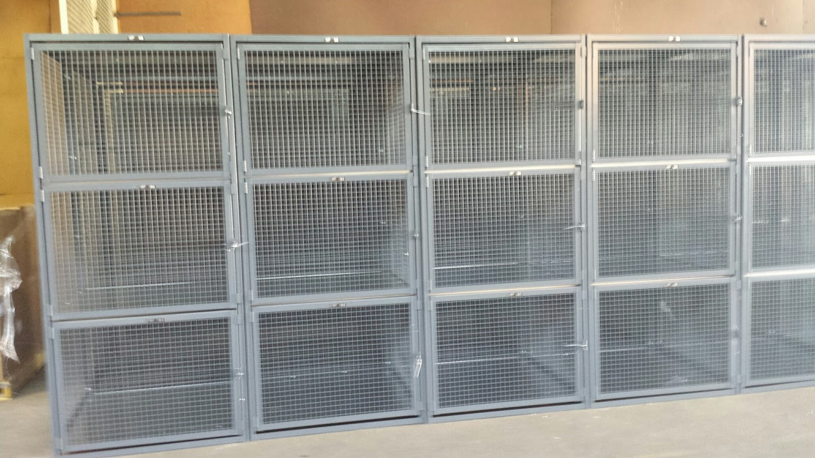 Expanded Metal Security Cages NYC | NYC Security Cages