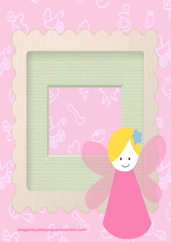 Frame for printing for photos of children