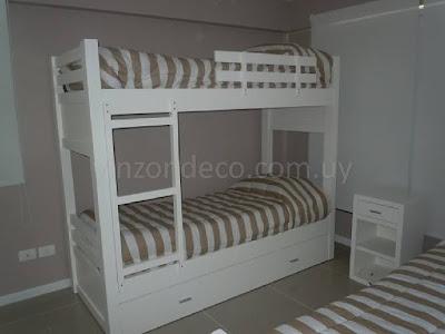Camas cuchetas para dormitorios infantiles o juveniles for Estudiar diseno de interiores online