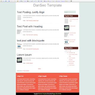 Blogspot Fast Loading Valid html5