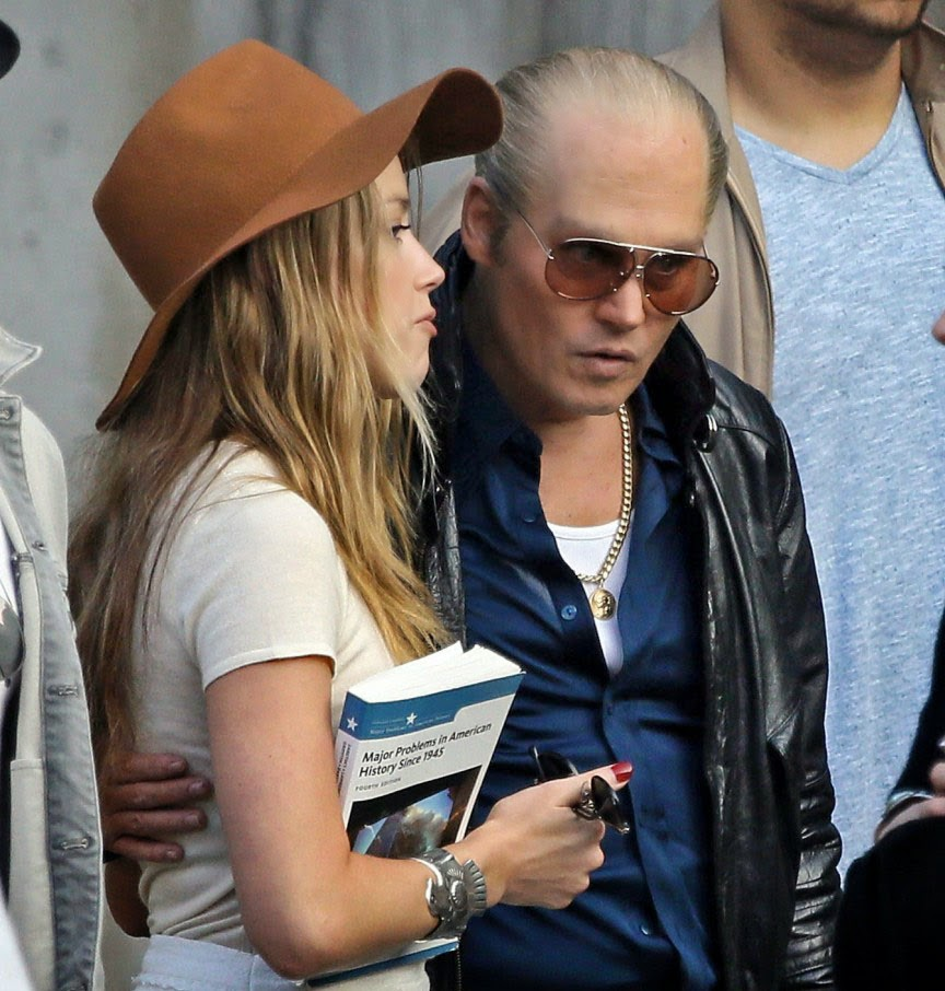 Johnny Depp em 'Black Mass'