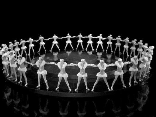 awesome geometrical arrangement of dancers by busby