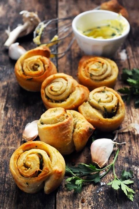 Escargots au beurre d'ail sans escargots pour l'apéro … encore une drôle d'histoire…