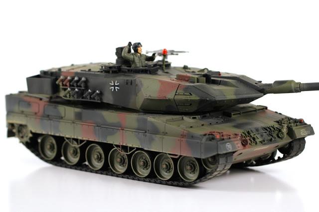 Tank Leopard Pesanan Indonesia Dikirim Mulai September 2013