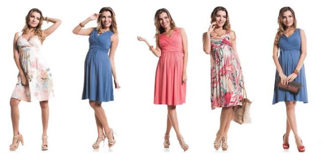 Moda Gestante - Batas - Roupas para gravidas