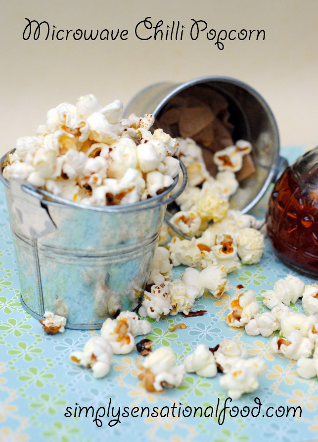 microwave chilli  popcorn and a heat 'n' eat microwave popcorn maker giveaway.
