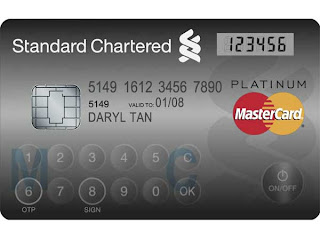 layar sentuh,kartu kredit layar sentuh,kartu kredit mastercard