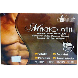 MACHO MAN (UNTUK LELAKI) V'ASIA