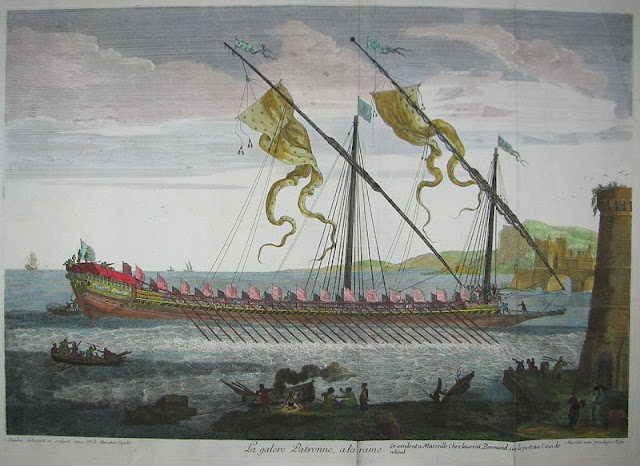 Gambar Kapal Layar perang Galleas lukisan