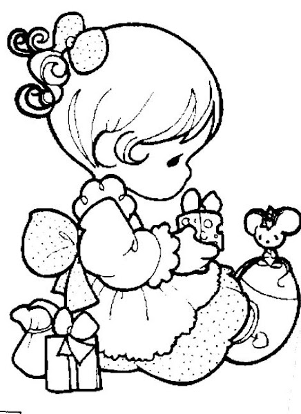 Precious Moments Alphabet Coloring Pages Free
