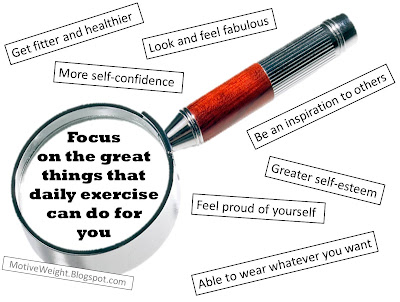 Focus On The Benefits Of Exercise