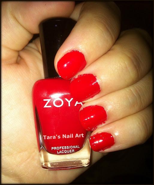 tara's nail art crab tutorial