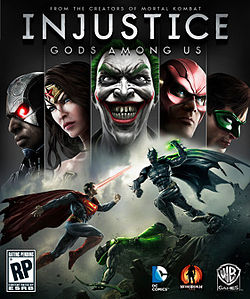 Injustice: Gods among Us portada