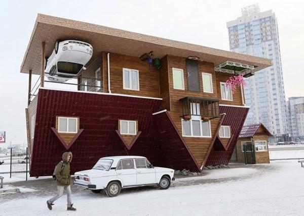 Căn nhà lộn ngược