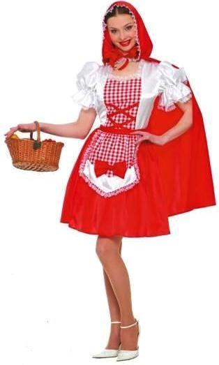 Hermoso disfraz de Caperucita Roja