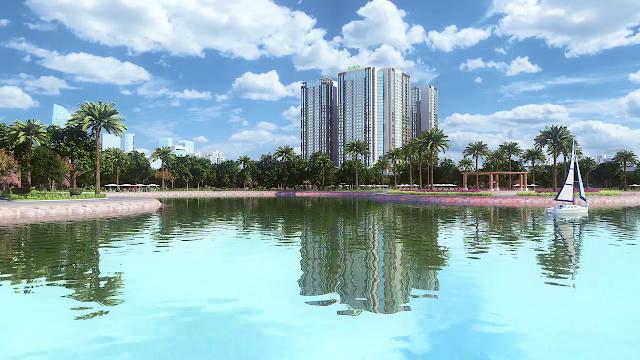 Phoi canh du an Eco Green City Nguyen Xien